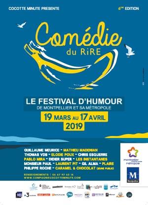 Banner comédie du rire 2019