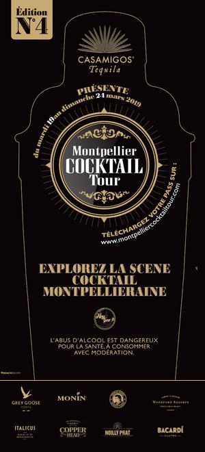 Banner Montpellier Cocktail Tour 2019